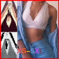 Plus Size, crop top, Lace, Halter