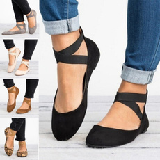 casual shoes, Ballet, Plus Size, Flats shoes