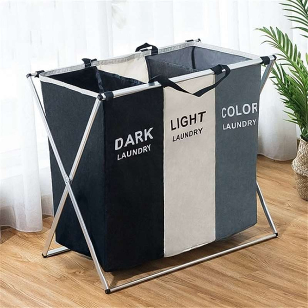 Dirty Clothes Laundry Storage Basket 2