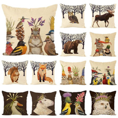 Beauty, animalpillowcase, Cover, sofapillowcover