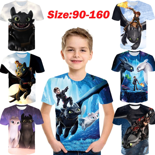 Tops & Tees, kids clothes, howtotrainyourdragon, For Boys