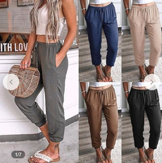 trousers, high waist, Casual pants, pants