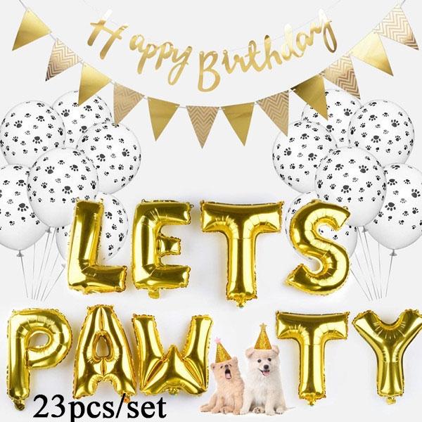 Pawprint Fashion Foilballoon Pets