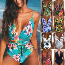 sexy, bandage swimsuit, Fashion, Beach