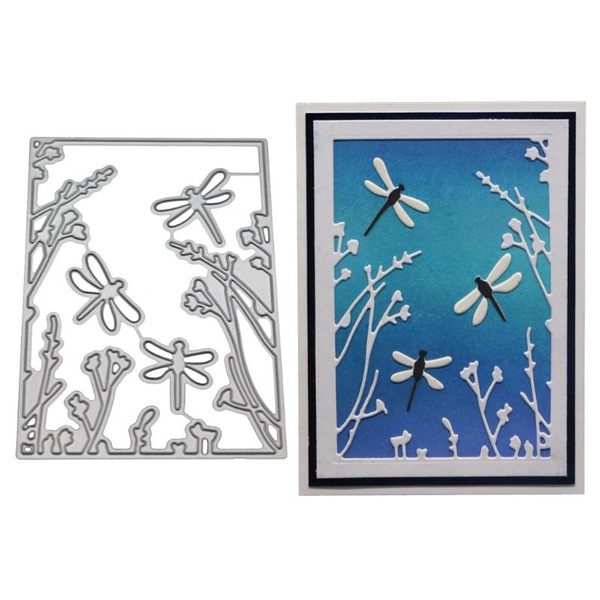 Dragonfly Metal Cutting Dies Stencil DIY Scrapbooking Album Paper Card Embossing