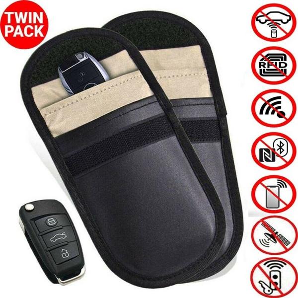Car Key Signal Blocker Case Faraday Cage Fob Pouch Keyless RFID Blocking Bag New