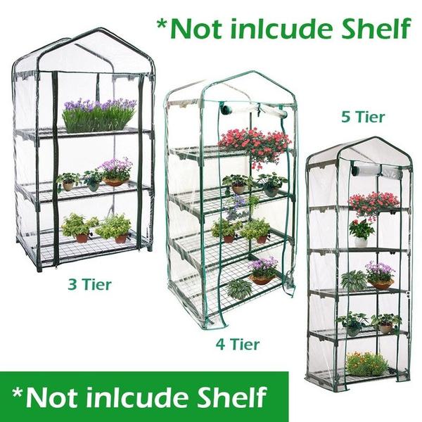 Garden Green House Mini Portable Outdoor Warm Greenhouse Flower Plants Gardening