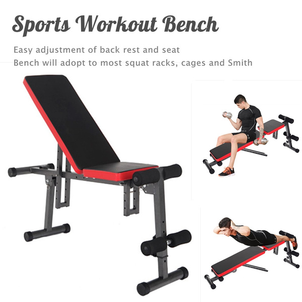 Enjoyable Sports Dumbbell Bench Weight Bench Flat Bench Incline Decline Fitness Bench Workout Bench Andrewgaddart Wooden Chair Designs For Living Room Andrewgaddartcom
