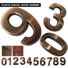doornumber, selfadhesive, Door, Home & Living