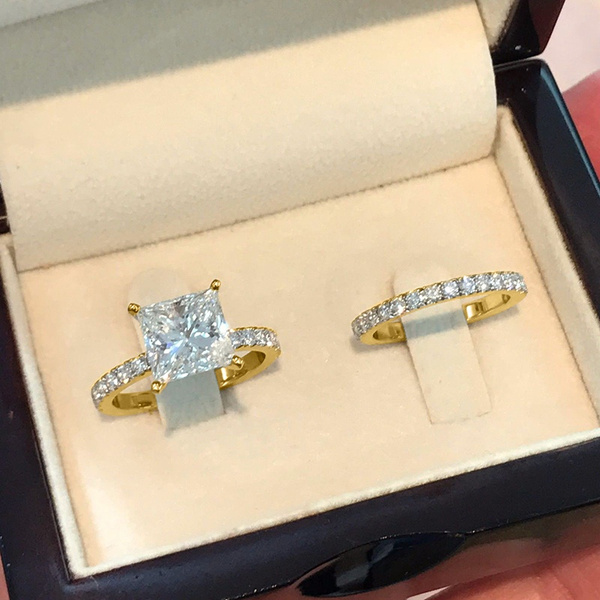 Sterling, Silver Jewelry, DIAMOND, gold