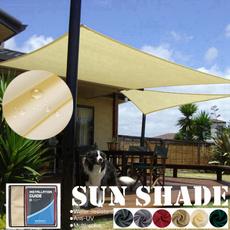 sunshadesail, shadesailcanopy, Triangles, Garden