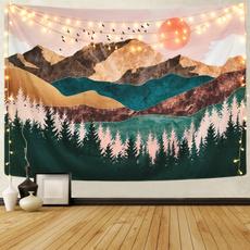 Mountain, Decor, Wall Art, mountaintapestrie
