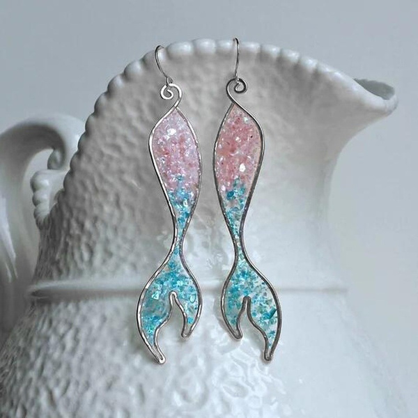 pink, flameblueopalearring, Jewelry, Engagement