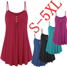 Summer, Vest, Plus Size, camisole