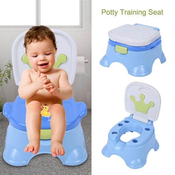 Stupendous Toddlers Potty Training Toilet Chair Splash Guard Detachable Seat Boys Girls Bralicious Painted Fabric Chair Ideas Braliciousco