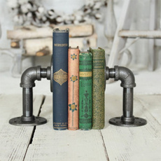 industrialbookend, steelbookend, bookend, vintagebookend