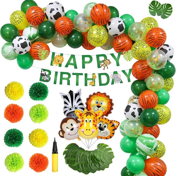 Shower, animalbirthdayparty, safari, happybirthdaybanner