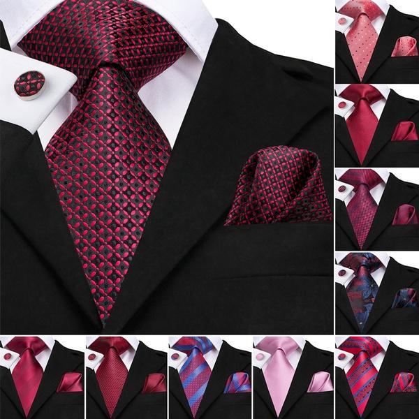 Wedding Tie, mens ties, redtie, tie set