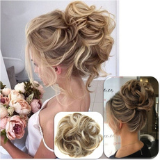 Hairpieces, pony, Elastic, Hair Extensions