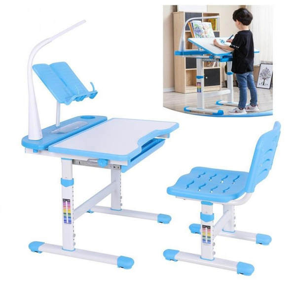 Sensational Childrens Desk Chair Set Height Adjustable Kids Student School Study Table Gmtry Best Dining Table And Chair Ideas Images Gmtryco