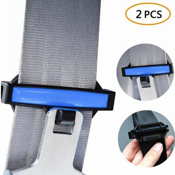 Socket Belt Safety Adjuster Clip Clamp Buckle Seatbelt Stopper  Car Seat