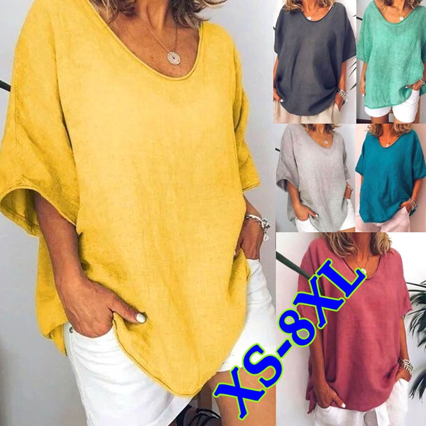 Tops & Tees, Plus Size, Summer, short sleeves