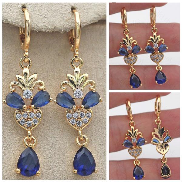 Heart, opalearring, Jewelry Accessory, Gemstone Earrings