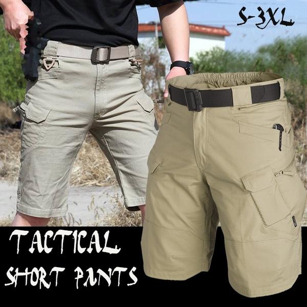 Mens Military Black Sportswear Urban Tactical Shorts Fishing SWAT Training  Airsoft Paintball Hiking Short Pants