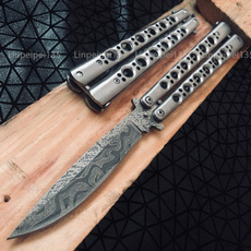 Balisong Butterfly Knife Metal Trainer   Wish