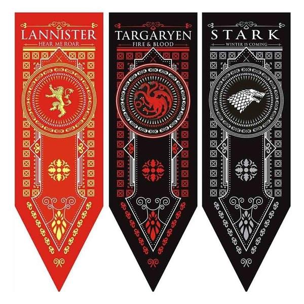 gameofthrone, house, Decor, decorativeflag