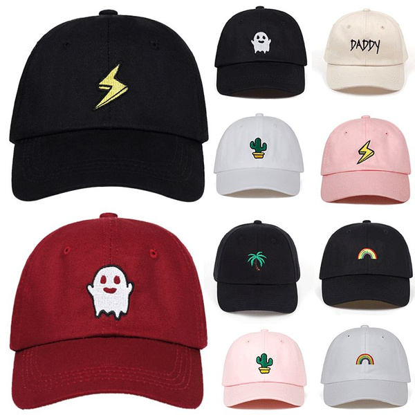 New Snapback Cap Cotton Baseball Cap Men Women Embroidery Simple Style Outdoor Sports Hip Hop Dad Hat Garros