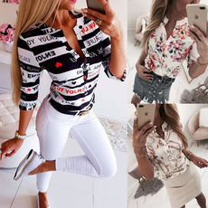 blouse, Summer, Sexy Top, Sleeve