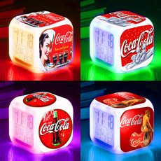 Coca Cola, Toy, led, Clock