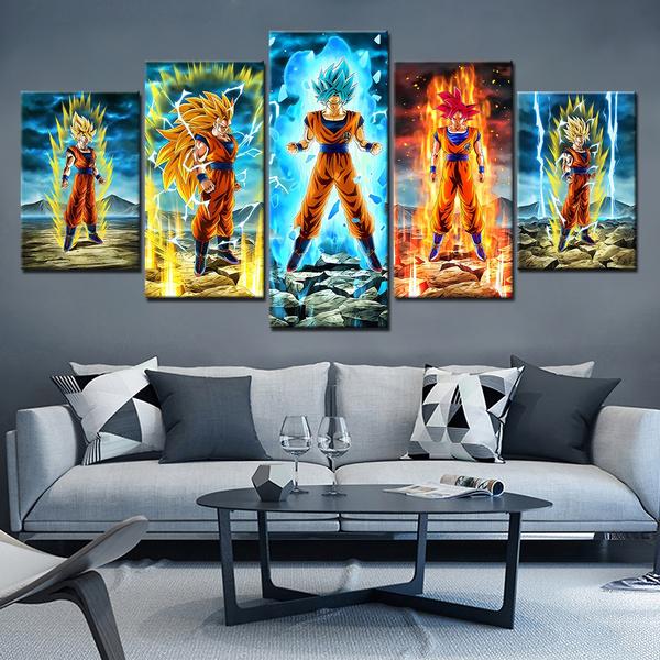 art, Home Decor, Colorful, gokuposter