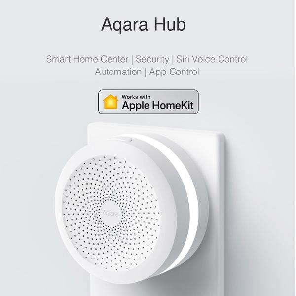 XIAOMI Smart Home Gate-way Aqara Wall Hub Suport Homekit, Siri Voice  Control, Zig-bee, Mi Sensor Device