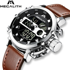LED Watch, watchformen, analogdigitalwatch, led