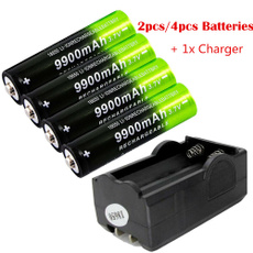 Flashlight, Batteries, Outdoor, charger