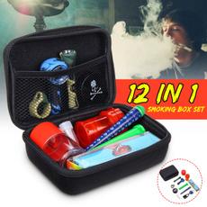 Box, smokingset, oilbox, grindingmachine