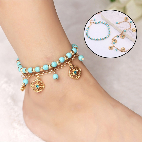 bohemianjewelry, Blues, Turquoise, Flowers