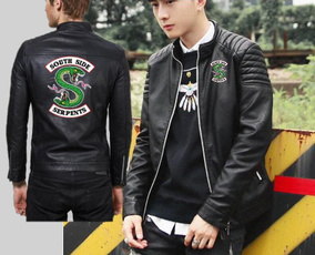 Fashion, Outerwear, serpent, leather