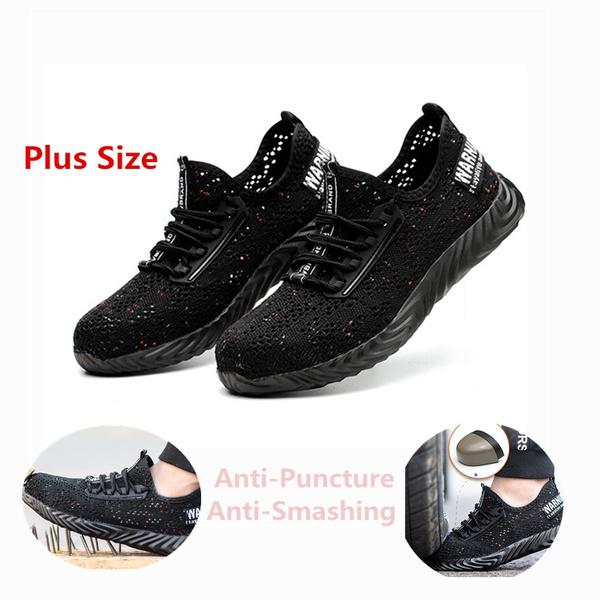 5bdb32f12a9a30 Fashion Men And Women Summer Breathable Mesh Lightweight Work Shoes ...