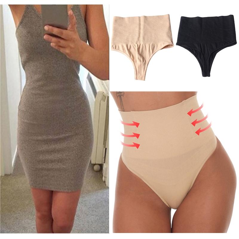 High Waist Women Lifter Thong Shapewear Body Butt Shaper Tummy Control Underwear