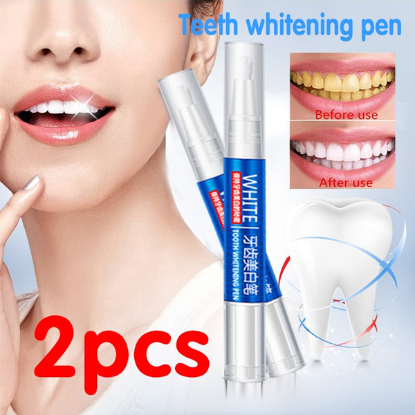 Magic Natural Teeth Whitening Gel Pen Oral Care Remove Stains