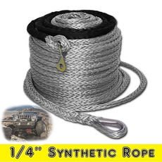 9.5mm*28m Synthetic Winch Line Cable Rope 20500LBs Hook Hawse Fairlead O