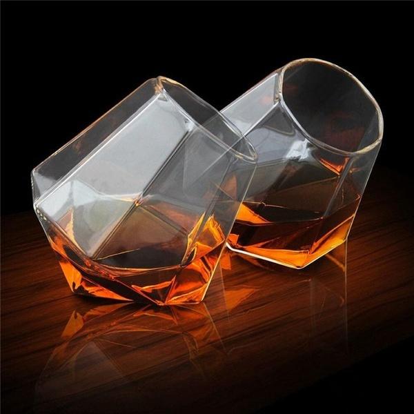 glasscup, whiskeygla, DIAMOND, Bar