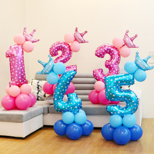 Baby, Shower, kidsbirthdayballoon, ballonnumber