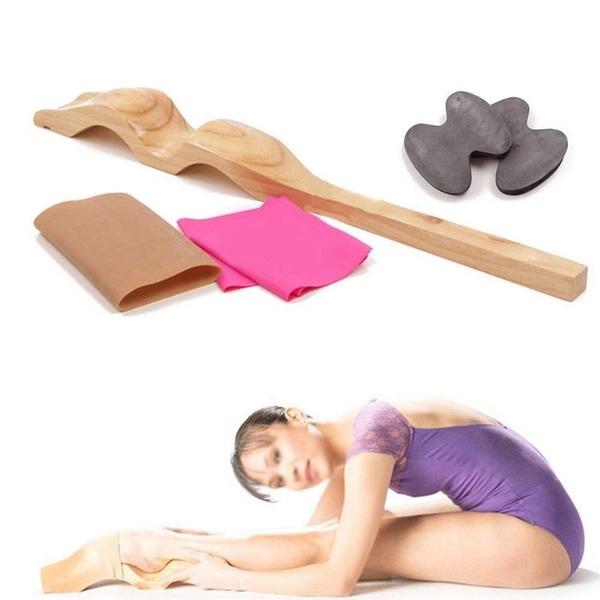Wood, Ballet, balletfootstretcherset, yogatool