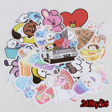 K-Pop, Fashion, Luggage, Stickers