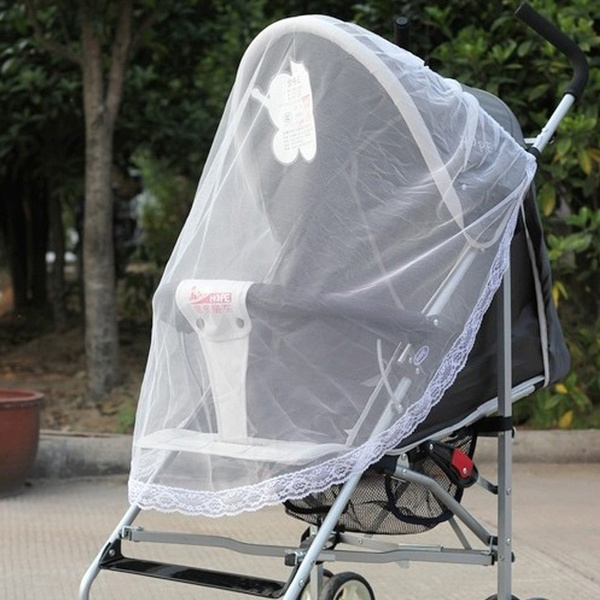 Baby Stroller Pushchair Buggy Pram Mosquito Fly Bug Insect Net Mesh Cover Summer