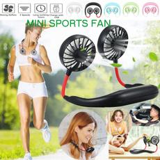air conditioner, Summer, portablefan, Necks
